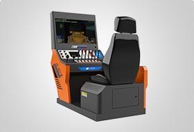 掘进机操作作业虚拟仿真训练与考试装置